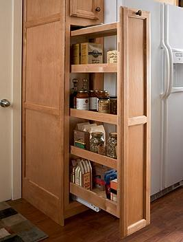 kitchen cabinet pantry pull out kitchen storage that will make your friends envious 19275