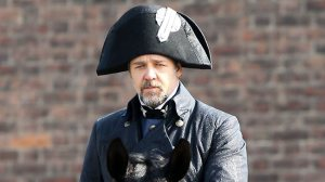 Jack Aubrey as Javert.Via broadwayworld.com